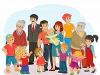 ολόκληρη η μεγάλη οικογένεια