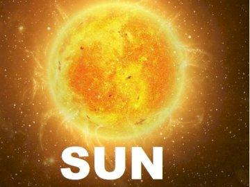 Puzzle del sole - Argomenti del puzzle Sun: Sistema solare