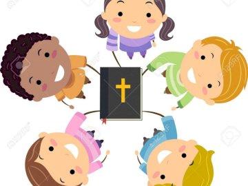 Sacra Bibbia - Disporre i puzzle. In bocca al lupo!!!