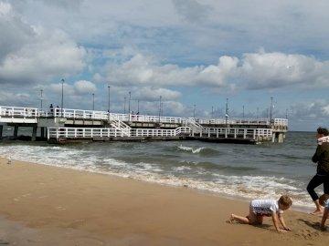 Freddo baltico sulla spiaggia - Freddo baltico sulla spiaggia