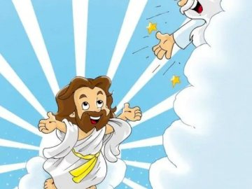 Jesus ascended to heaven - Jesus ascended to heaven to God
