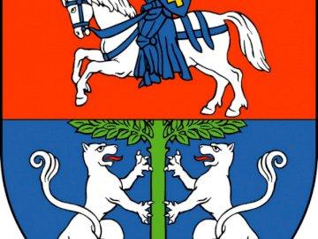 Stemma di Lubartowa - Stemma della città di Lubartów. Una stretta di un logo.