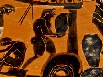 Un vase de la Grèce antique - art, pichet, Grèce antique