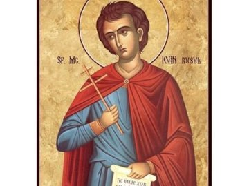 St. John the Russian - Saint John the Russian is our guardian