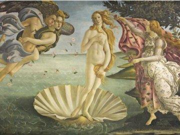 Сандро Ботичели - Раждане на Венера - Сандро Ботичели - Раждане на Венера.