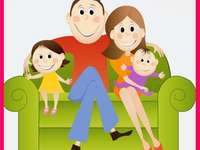 GLÜCKLICHE FAMILIE - SEHEN SIE, WIE GLÜCKLICH EINE FAMILIE SEIN KANN