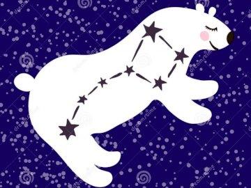 Costellazione dell'Orsa Maggiore - Montare la costellazione dell'Orsa Maggiore nel cielo