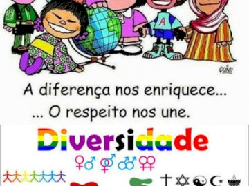 GENDER AND DIVERSITY - DIFFERENCES DO NOT MAKE US BETTER OR WORST. ONLY DIFFERENT!