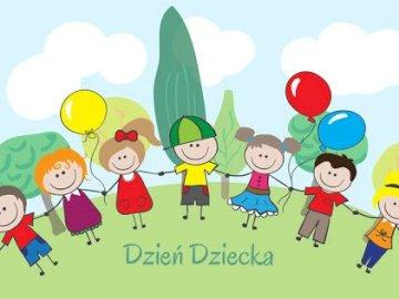 Radosnego Dnia Dziecka - Ułóż puzzle z okazji Dnia Dziecka. Ułóż puzzle z okazji Dnia Dziecka Radosnego Dnia Dziecka