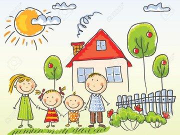 Rodzina w przedszkolu - Spróbuj ułożyć obrazek