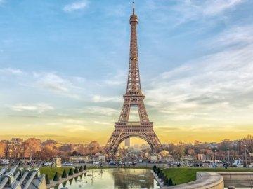 Wieża Eiffla - Wieża Eiffla w Paryżu.