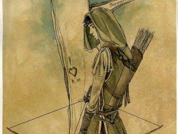 Robin Hood - Bohater literatury obcej
