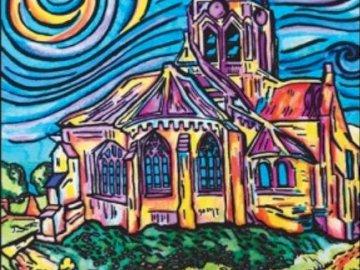 Chiesa di Auvers - Van Gogh - Edifici religiosi nell'arte: la chiesa