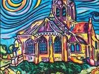 Chiesa di Auvers - Van Gogh