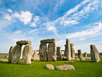 Stone Cheng - to jeden z  najstarszych zabytków w europie