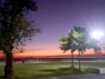 Amanecer - Un amanecer desde el frente de la casa