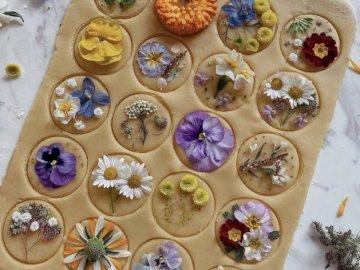 Un joli tableau de fleurs - Voilà un joli plateau de fleurs
