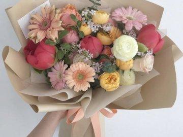 Un joli bouquet de fleurs - Un joli bouquet de fleurs