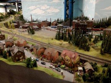 Świat w miniaturze - Muzeum kolejek w Hamburgu. Największa makieta modelarstwa kolejowego na świecie.