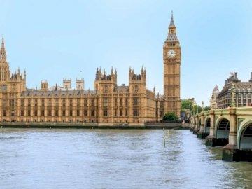 Wielki Dzwon - Big Ben - Big Ben jest jednym z najbardziej znanych zabytków na świecie. Big Ben to nazwa nadana Wielkiemu D