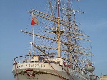 Statek Dar Pomorza - Dar Pomorza - Narodowe Muzeum Morskie w Gdańsku