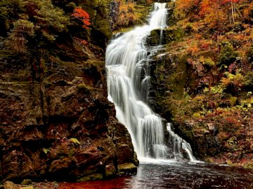 Wodospad Kamieńczyk - Karkonosze - Szklarska poręba