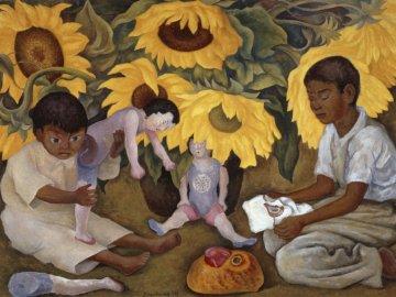 Frida Kahlo, Diego Rivera - sztuka meksykańska, współczesna