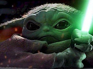 BABY YODA - Postać z filmu star wars czyli YODA, ale w wersji małej