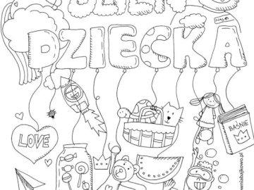 Dzień dziecka - Dla dzieci puzzle do układania