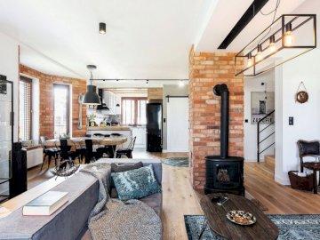 Wnętrze mieszkania - Wnętrze mieszkania w stylu vintage