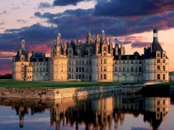Chateau-De-Chambord - Chateau-De-Chambord - zamki nad Loarą