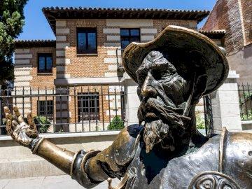 Don Kichote - Pomnik bohatera w Madrycie