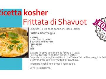 Ricetta frittata di shavuot - Componi la ricetta ebraica della frittata di shavuot e poi divertiti a cucinare!