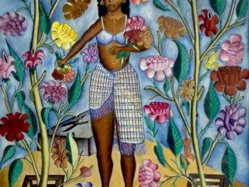 Haitian art - Haiti, sztuka, kobiety