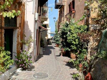 Uliczka - Kreta - malownicza uliczka -----