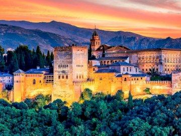 Granada La  Alhambra (olé) - La Alhambra de Granada es genial very pretty