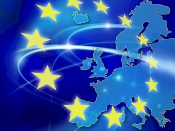 Unia Europejska - Ułóż obrazek przedstawiający Unię Europejską