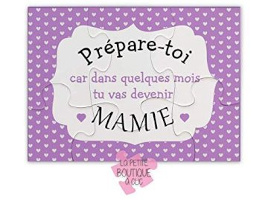 Mamie Françoise - Une petite annonce originale de la part de tes petites-filles, Emma et Léane...