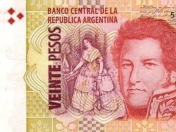 BILLETE DE 20 - Ordena las partes del billete
