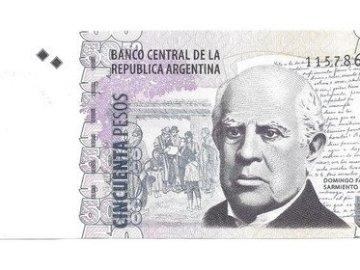 BILLETE DE 50 - Ordena las partes del bilete
