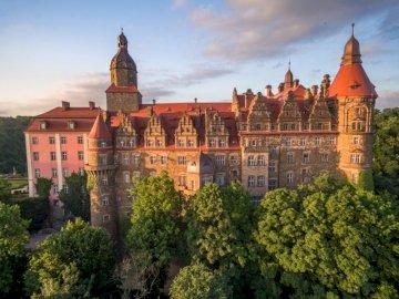 Zamek Książ - Podróż po Europie - Wałbrzych.
