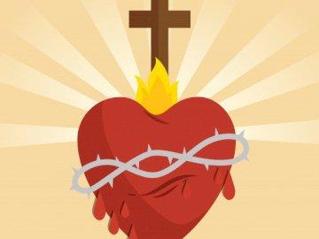 Sagrado Corazón de Jesús - Dibujo Sagrado Corazón de Jesús