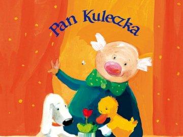 PAN KULECZKA I ZWIERZAKI - Poznaj Pana Kuleczkę i jego zwierzaki. Ułóż puzzle i zobacz, o którą książkę z serii chodzi