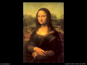 Monna Lisa - dipinto, museo del Louvre-Parigi