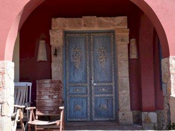 entrada en una casa de puerto andratx - entrada en una casa de puerto andratx