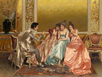 W salonie - kobiety na wydaniu, salon