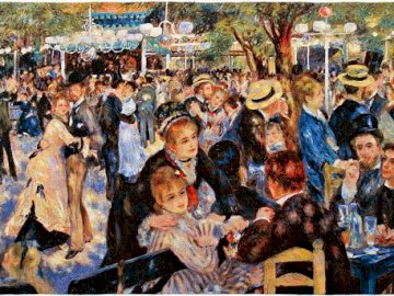 A lesson of happiness - French art, a lesson of happiness