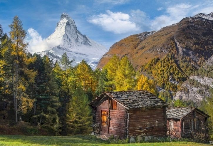 Matterhorn. - Switzerland. Matterhorn peak.