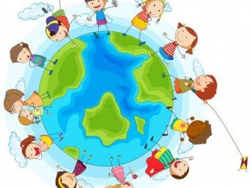Kinderdag - Kinderdag - kinderen van de wereld
