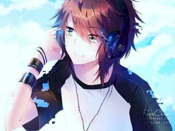 badboy zpěvák - jr poslouchající hudbu soukromě, protože si lidé myslí, že je zlý chlapec